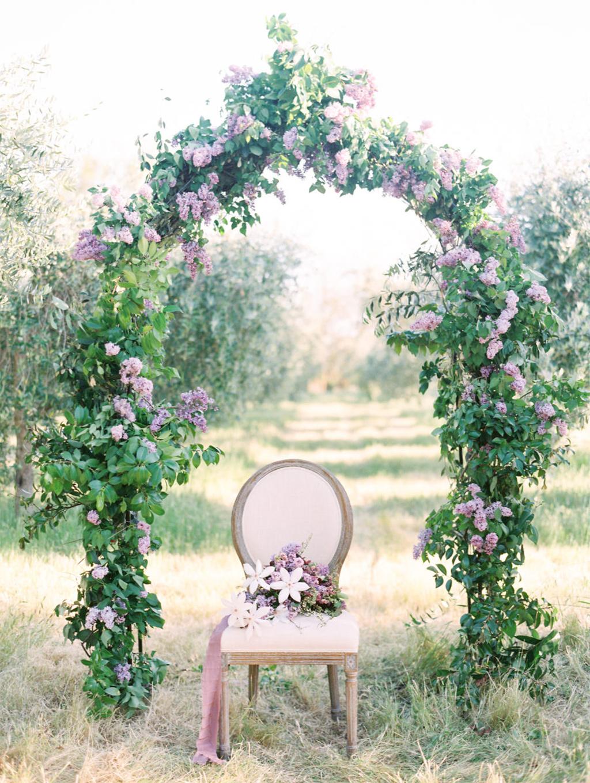 svadben svod dekoracija
